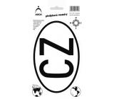 Arch Autosamolepka předpisová CZ 12,5 x 23 cm