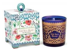 Michel Design Works Květy lesních plodů Sojová ručně vyrobená vonná svíčka ve skle 184 g