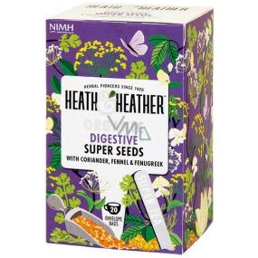 Heat & Heather Bio Dobré zažívání s anýzem, koriandrem, fenyklem a pískavicí čaj 20 sáčků x 1,5 g