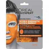 Loreal Paris Men Expert Hydra Energy hydratující a energizující pleťová maska pro muže 30 g
