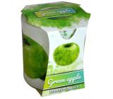 Admit Verona Green Apple - Zelené jablko vonná svíčka ve skle 90 g