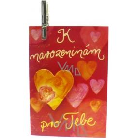 Nekupto Dárková kartička K narozeninám pro Tebe 7 x 5,5 cm 1 kus, K29 007