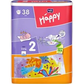 Bella Happy 2 Mini 3-6 kg plenkové kalhotky 38 kusů