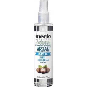 Inecto Naturals Argan tělový olej s čistým arganovým olejem 200 ml