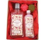 Bohemia Pro babičku koupelová lázeň 200 ml + sprchový gel 100 ml + ručně vyráběné mýdlo 2 x 30 g, kosmetická sada