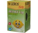 Leros Baby Citrónek bylinný čaj pro děti 20 x 2 g