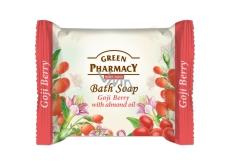 Green Pharmacy Plody kustovnice a Mandlový olej toaletní mýdlo 100 g