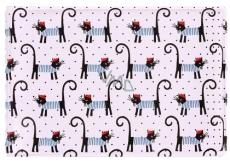 Albi Pouzdro na vizitky, karty Francouzské kočky 9,5 cm x 7 cm