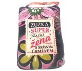 Albi Skládací taška na zip do kabelky se jménem Zuzka 42 x 41 x 11 cm