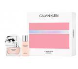 Calvin Klein Women parfémovaná voda pro ženy 50 ml + tělové mléko 100 ml, dárková sada