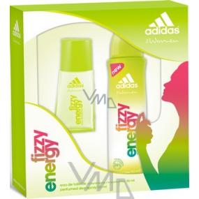 Adidas Fizzy Energy toaletní voda 30 ml + deodorant sprej 150 ml, kosmetická sada