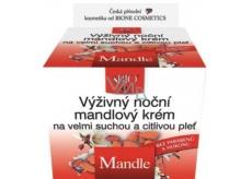 Bione Cosmetics Mandle výživný noční mandlový krém velmi suchá a citlivá pleť 51 ml
