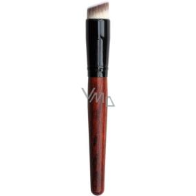Diva & Nice Kosmetický štětec na make-up kulatý 1 kus