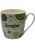 Nekupto Twister hrnek se jménem Jaroslav zelený 0,4 litru 029 1 kus