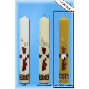 Lima Paškál Luxus svíčka včelí vosk 60 x 400 mm 1 kg 1 kus