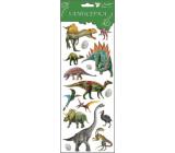 Samolepky dinosauři 4 vajíčka 34,5 x 12,5 cm