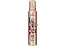 Wella Wellaflex Brilliant Colour silné zpevnění pěnové tužidlo barvené vlasy 200 ml
