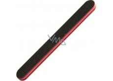 Pilník plochý smirkový černo-červený 5312 17,7 cm