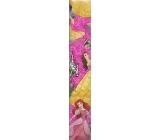Ditipo Disney Vánoční balicí papír pro děti Princess tmavě růžový 2 m x 70 cm