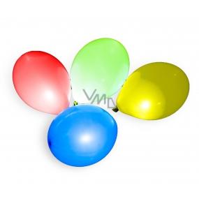 Balónek nafukovací s LED světlem 30 cm 3 + 1 kusů v sáčku