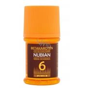 Nubian OF6 Brtakaroten voděodolný olej na opalování 60 ml