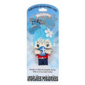Albi Andělíček strážníček - Andělíček pořádníček přívěsek 8,5 cm