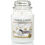 Yankee Candle Vanilla - Vanilka vonná svíčka Classic velká sklo 623 g