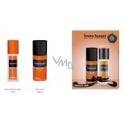 Bruno Banani Absolute parfémovaný deodorant sklo pro muže 75 ml + deodorant sprej 150 ml, dárková sada
