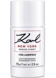 Karl Lagerfeld Karl New York Mercer Street deodorant stick pro muže 75 g