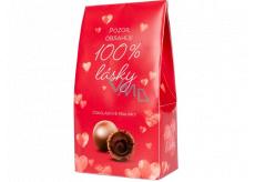 Albi Čokoládové pralinky 100% lásky 100 g
