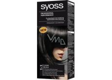 Syoss Professional barva na vlasy 1 - 1 černý Profesionální
