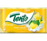 Tento Fresh Aroma Sunny Lemon parfémovaný toaletní papír 2 vrstvý 156 útržků 8 kusů