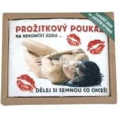 Bohemia Gifts & Cosmetics Dárkový hadr na sváteční vytírání Požitkový poukaz 1 kus