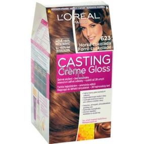 Loreal Paris Casting Creme Gloss barva na vlasy 623 horká čokoláda