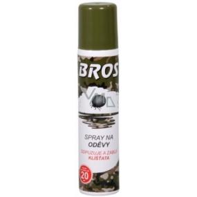 Bros Repelentní spray na oděvy odpuzuje a zabíjí klíšťata 90 ml