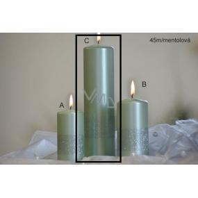 Lima Stuha svíčka mentolová válec 60 x 220 mm 1 kus