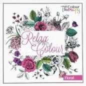 Albi Antistresové Relaxační omalovánky Květy 21 cm × 21 cm