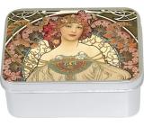 Le Blanc Mucha - Iris přírodní mýdlo tuhé v krabičce 100 g