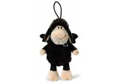 Nici Ovečka Jolly černá se závěsem Plyšová hračka nejjemnější plyš 15 cm