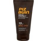 Piz Buin Tan & Protect Tan Intensifying Sun Lotion mléko urychlující opalování SPF15 150 ml