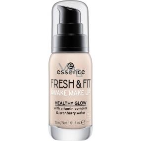 Essence Fresh & Fit Awake make-up 20 Fresh Nude 30 ml