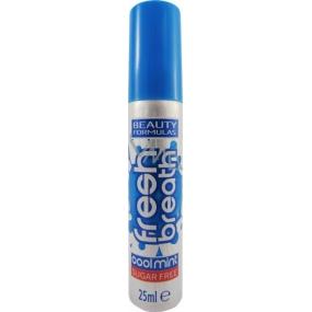 Beauty Formulas Cool Mint ústní sprej 25 ml