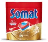 Somat Gold s tablety do myčky 12 funkcemi odstraňují i ty nejodolnější zbytky a skvrny od čaje i kávy a poskytnou perfektní výsledky mytí již při 40°C 36 tablet Duopack