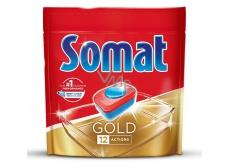 Somat Gold s 12 funkcemi tablety do myčky odstraňují i ty nejodolnější zbytky a skvrny od čaje i kávy a poskytnou perfektní výsledky mytí již při 40°C 36 tablet Duopack