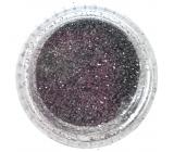 Professional Ozdoby na nehty glitter stříbrný 132