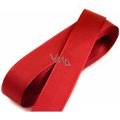 Nekupto Stuha látková taftová červená 3 m x 15 mm