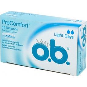 o.b. Pro Comfort Light Days tampony 16 ks