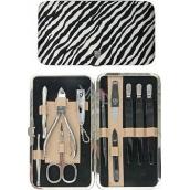 Kellermann 3 Swords Luxusní manikúra Zebra 11 dílná Fashion Materials v aktuálním módním materíálu 56210 F N
