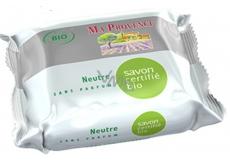 Ma Provence Bio Bez parfemace Pravé Marseille toaletní mýdlo 75 g