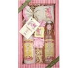 Bohemia Herbs Rosarium Premium s extrakty z šípků a květů růže sprchový gel 200 ml + šampon na vlasy 200 ml + koupelová sůl 150 g + toaletní mýdlo 30 g, kosmetická sada